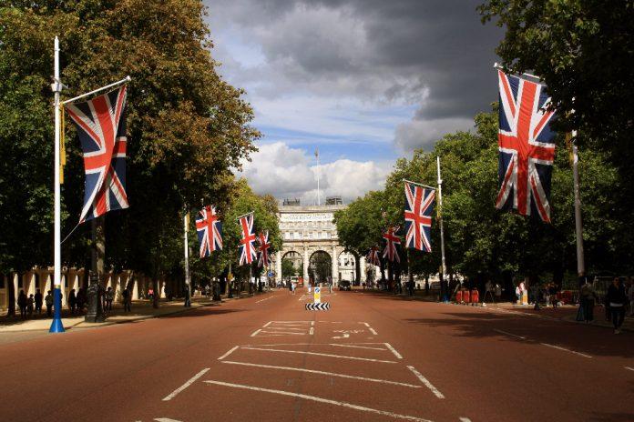 El detenido fue arrestado en the Mall en Londres. Imagen de archivo.