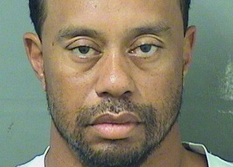 Tiger Woods arrestado por conducir ebrio