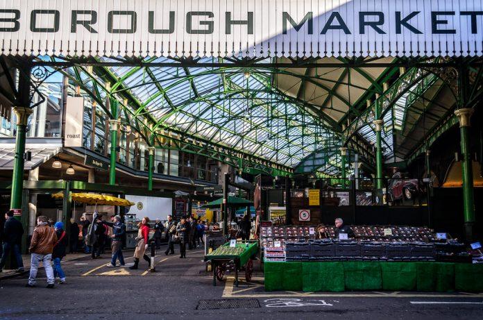 Borough Market fue uno de los escenarios del ataque. Imagen de archivo.