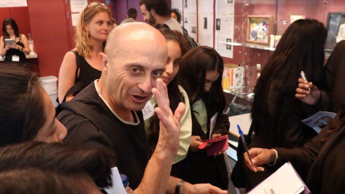 El actor Pepe Viyuela en el Festival de Teatro Español. Gloria Gómez.