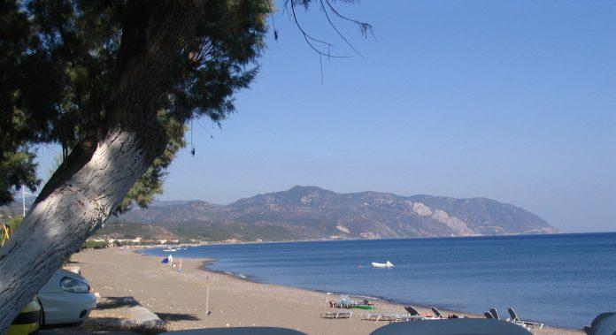 El terremoto afectó a la isla griega de Lesbos. Imagen de archivo.