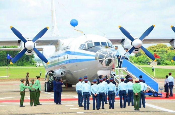 El modelo de avión que se estrelló fue un Y-8F-200. Defence Blog.