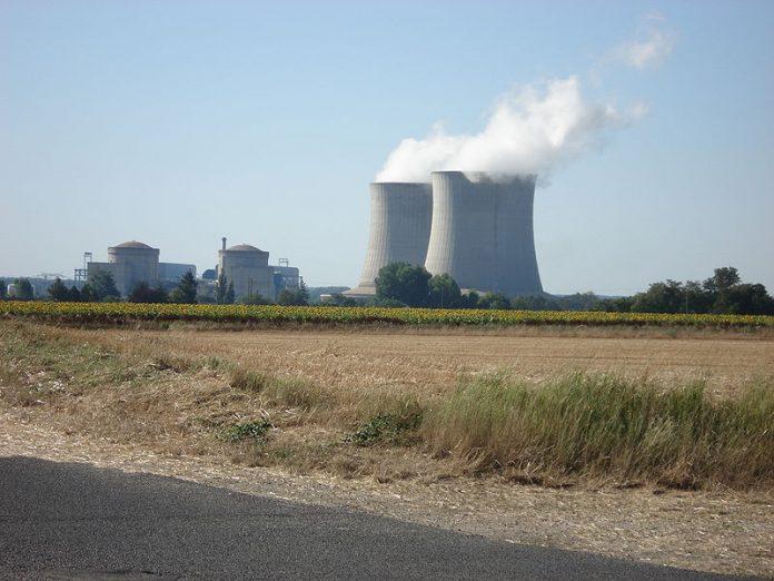 Central atómica de Saint Laurent Nouan. Imagen de archivo.