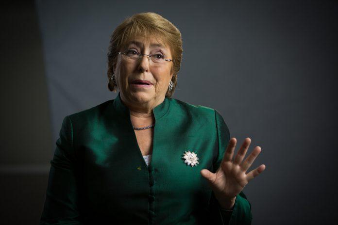 La alta comisionada de la ONU, Michelle Bachelet. Imagen de archivo.