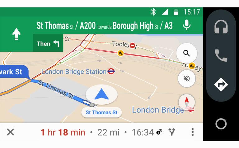 Así funciona Android Auto