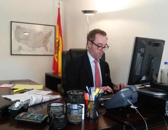 El excónsul de España en Estados Unidos Enrique Sardá Valls. Ministerio de Asuntos Exteriores y Cooperación.