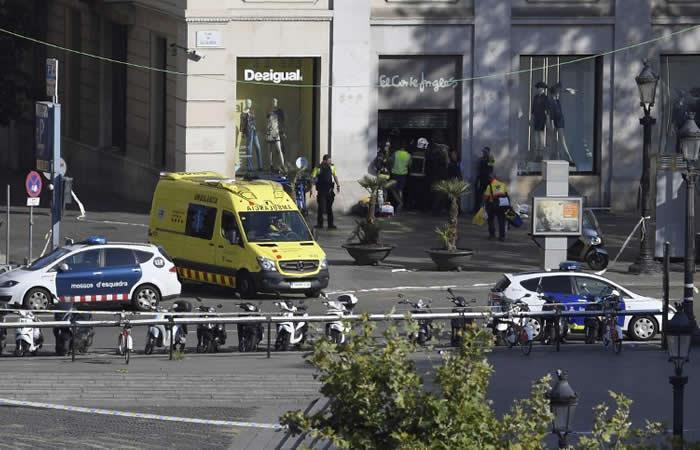 EE.UU. habría alertado en mayo de un posible atentado en Barcelona