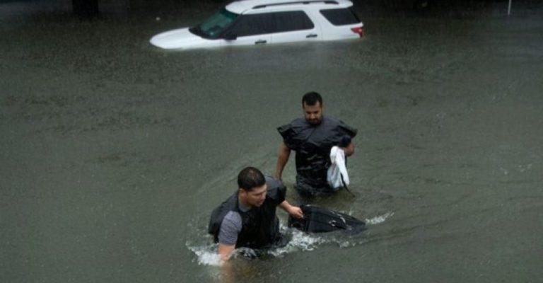 Tormenta Harvey llega a Luisiana