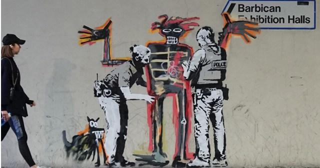 Aparecen dos nuevos murales de Bansky en el centro de Londres.