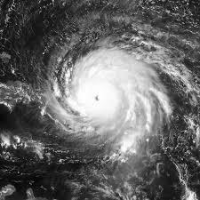 Huracán Irma. Imagen de archivo.