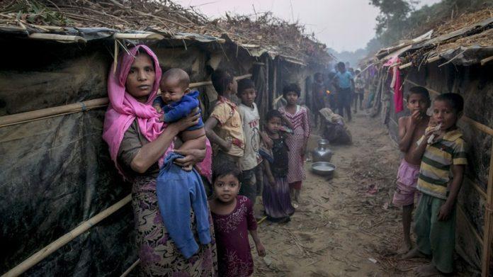 Rohingya en Myanmar. Zeit Online.