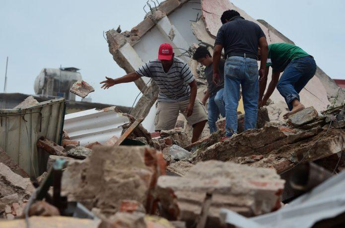 Imágenes del terremoto de México. Ojo.