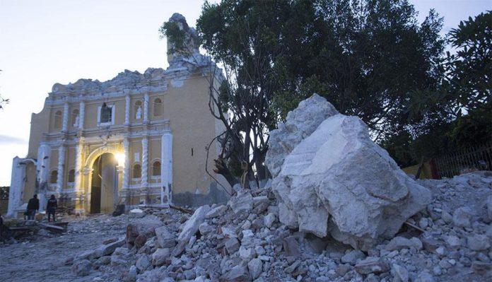 El terremoto en México fue de magnitud 7,1. Peru.com