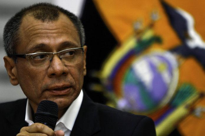 Jorge Glas, vicepresidente de Ecuador. Imagen de archivo.
