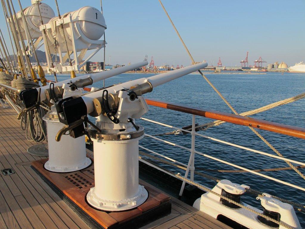 Barco de la Armada Argentina. NO SONIDO.