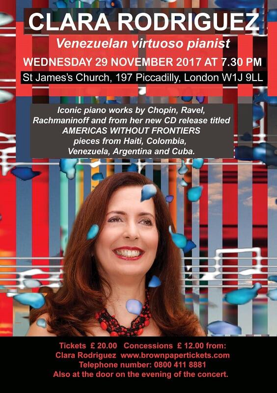 "Clara Rodriguez en Londres presenta ""Americas Without Frontiers"""