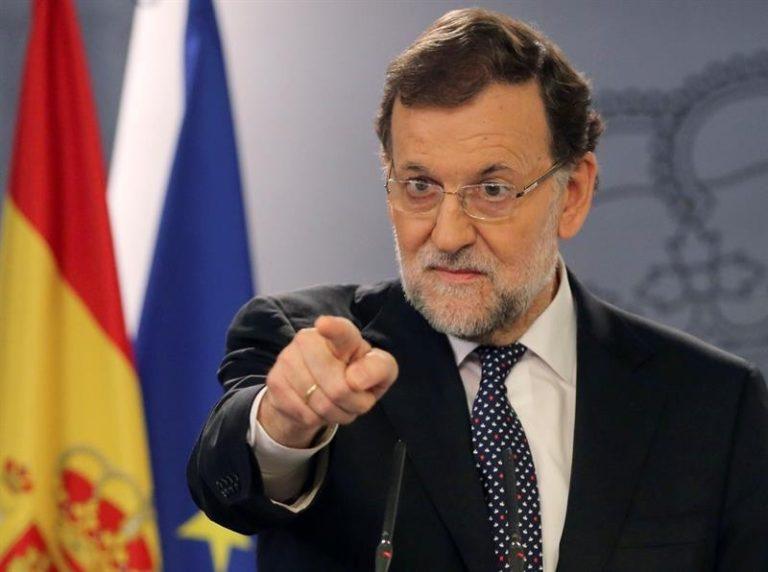 """Mariano Rajoy  sólo negociará con el nuevo gobierno catalán """"dentro de la ley"""""""