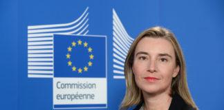 Federica Mogherini, alta representante para la Política Exterior de la Unión Europea. Imagen de archivo.