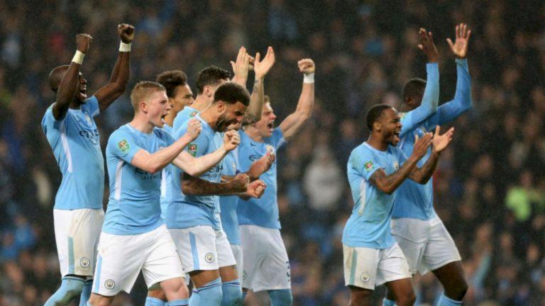 Manchester City campeón de la Copa de la liga