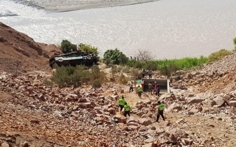 Al menos 44 fallecidos en un accidente de autobús en Perú