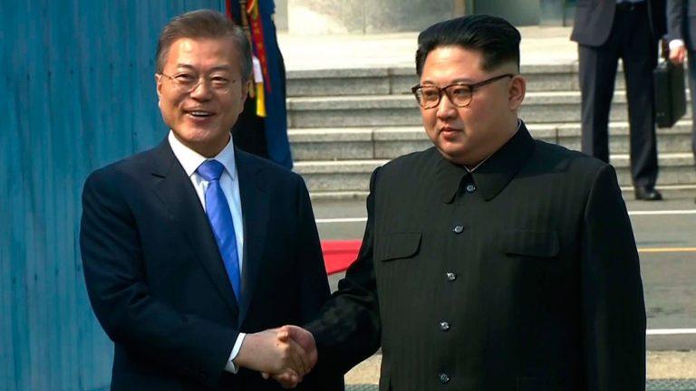 Los líderes coreanos buscan una nueva etapa de paz