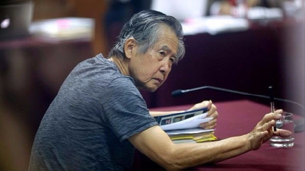 El expresidente peruano, Alberto Fujimori. RPP Noticias.