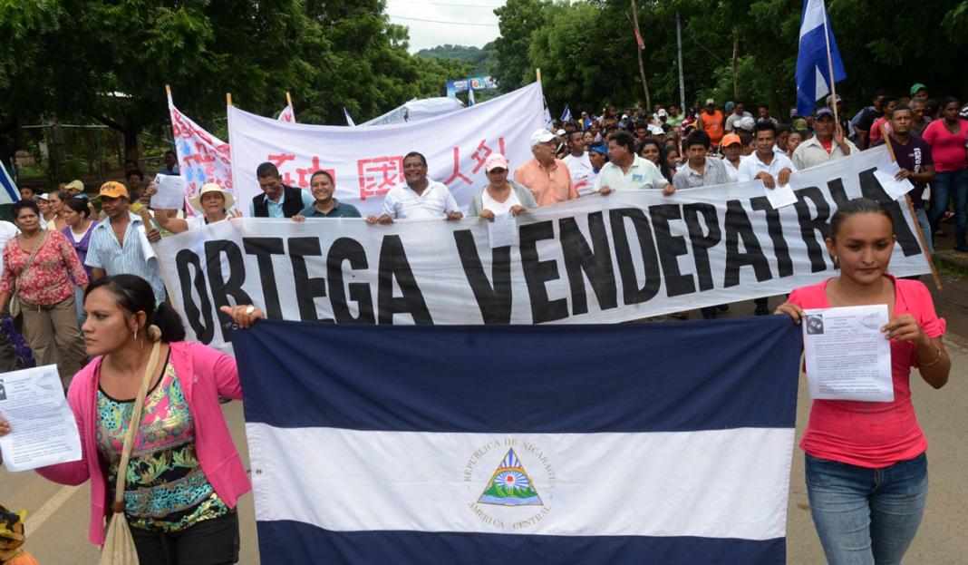 Manifestaciones en Nicaragua contra el presidente Daniel Ortega. Porttada.