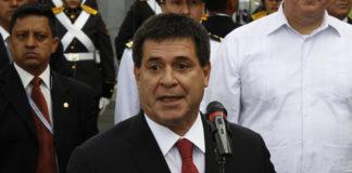 Horacio Cartes, presenta su renuncia como presidente de Paraguay. Imagen de archivo.
