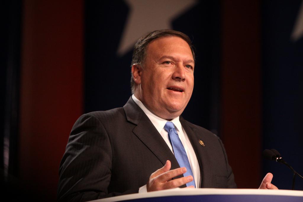 ike Pompeo, secretario de Estado norteamericano. Imagen de archivo.