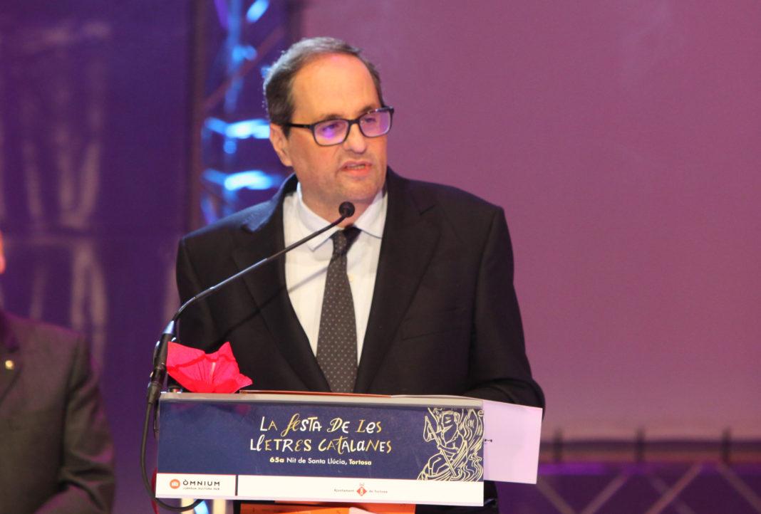 Quim Torra, próximo presidente catalán. Imagen de archivo.