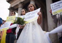 Reivindicación contra el matrimonio infantil. soloquienlovive.com