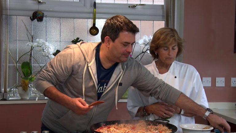 Cocinando con Gloria, Arroz con Pollo