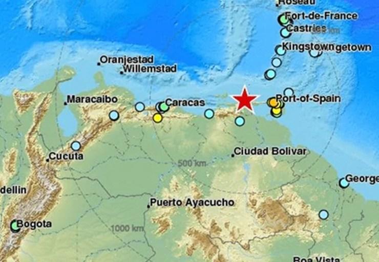 Un terremoto de 7,3 afecta el norte de Venezuela