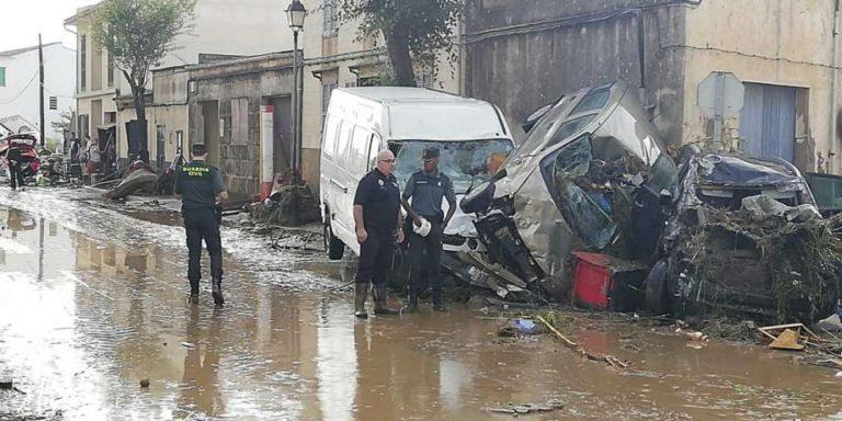 10 muertos y un desaparecido por las lluvias torrenciales en Mallorca
