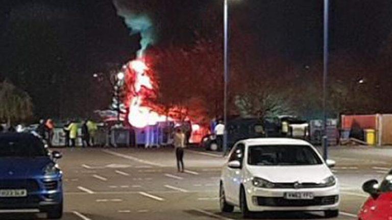 El helicóptero del dueño del Leicester se estrelló cerca del estadio
