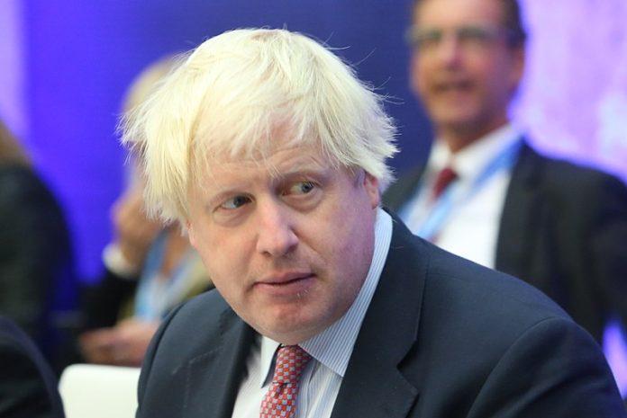 Boris Johnson, primer ministro brirtánico. Wikimedia.